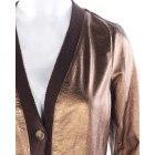 Blazer, veste tailleur MARC JACOBS Doré, bronze, cuivre