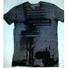 Tee-shirt ARMANI EXCHANGE Gris, anthracite