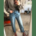 Jeans large, boyfriend & OTHER STORIES Bleu, bleu marine, bleu turquoise