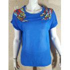 Top, tee-shirt DEBY DEBO Bleu, bleu marine, bleu turquoise