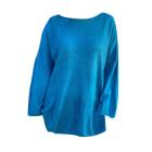 Pull tunique AMERICAN VINTAGE Bleu, bleu marine, bleu turquoise
