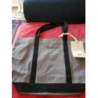 Non-Leather Oversize Bag VANESSA BRUNO gris foncé et noir