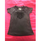Top, Tee-shirt ANTIK BATIK Gris, anthracite