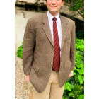 Veste de costume HARRIS TWEED Marron