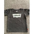 Top, tee shirt LEVI'S Gris, anthracite