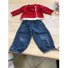 Ensemble & Combinaison pantalon BABY CLUB Rouge, bordeaux