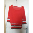 Pull DAMART Rouge, bordeaux