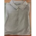 Polo SALVATORE FERRAGAMO Gris, anthracite