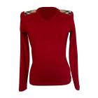 Top, T-shirt BURBERRY Red, burgundy