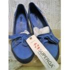 Chaussures de sport SUPERGA Bleu, bleu marine, bleu turquoise
