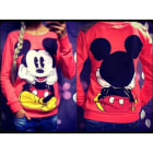 Sweat DISNEY Rouge, bordeaux