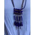 Pendentif, collier pendentif CAMAIEU Bleu, bleu marine, bleu turquoise