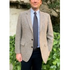 Veste de costume HARRIS TWEED Gris, anthracite