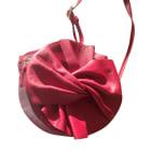 Leather Shoulder Bag CLAUDIE PIERLOT Red, burgundy