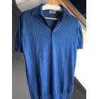 Polo JOHN SMEDLEY Bleu, bleu marine, bleu turquoise
