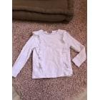 Top, Tee-shirt MONOPRIX Blanc, blanc cassé, écru