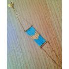 Bracelet CAROLINE NAJMAN Bleu, bleu marine, bleu turquoise