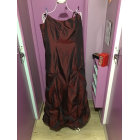 Robe longue JACQUELINE RIU Rouge, bordeaux
