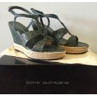 Sandales compensées PONS QUINTANA Vert