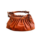 Leather Handbag LE TANNEUR Brown