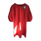 Robe mi-longue COP-COPINE Rouge, bordeaux