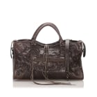 Sacoche BALENCIAGA City Brown