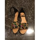Sandales plates  DOLCE & GABBANA Multicouleur