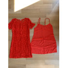 Robe courte HOLLISTER Orange