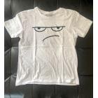 T-shirt ZARA White, off-white, ecru