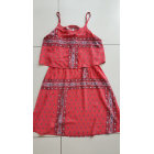 Dress PEPE JEANS Red, burgundy