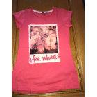 Top, Tee-shirt B-KARO Rose, fuschia, vieux rose