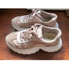 Sneakers MAJE Pink,  altrosa