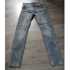 Jeans droit SIXTH JUNE Gris, anthracite