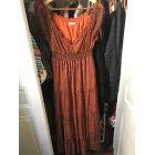Robe longue JACQUELINE RIU Orange