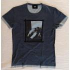 Tee-shirt D&G Bleu, bleu marine, bleu turquoise