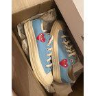Baskets COMME DES GARCONS Bleu, bleu marine, bleu turquoise