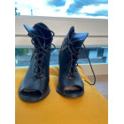 Bottines & low boots à talons JUSTFAB Noir