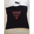 Top, Tee-shirt GUESS Noir