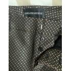 Pantalon slim, cigarette ZADIG & VOLTAIRE Doré, bronze, cuivre