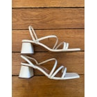 Sandali con tacchi JONAK Bianco, bianco sporco, ecru