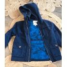 Veste CYRILLUS Bleu, bleu marine, bleu turquoise