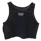 Top, tee-shirt DOLCE & GABBANA Noir