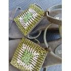 Sandales à talons ELIZABETH STUART Vert