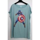 Tee-shirt UNIQLO Vert