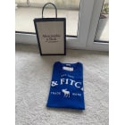 Tee-shirt ABERCROMBIE & FITCH Bleu, bleu marine, bleu turquoise