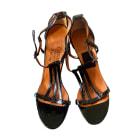 Sandales à talons LANVIN Noir