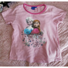 Top, Tee-shirt DISNEY Rose, fuschia, vieux rose