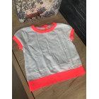 Top, Tee-shirt BONPOINT Blanc, blanc cassé, écru