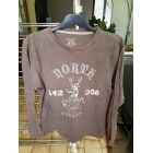 Tee-shirt TEX Marron