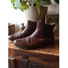 Bottines & low boots plates JONAK 37 noir 7731146